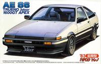 Fujimi: 1/24 Toyota AE86 Trueno Early Type 1983 - Model Kit