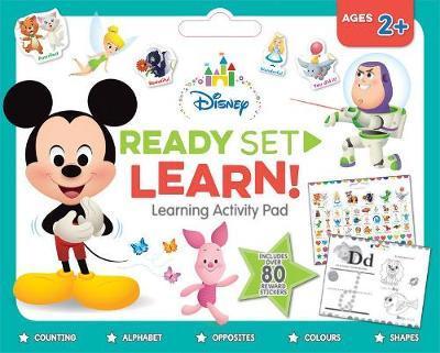 Ready Set Learn! Learning Activity Pad (Disney Baby)