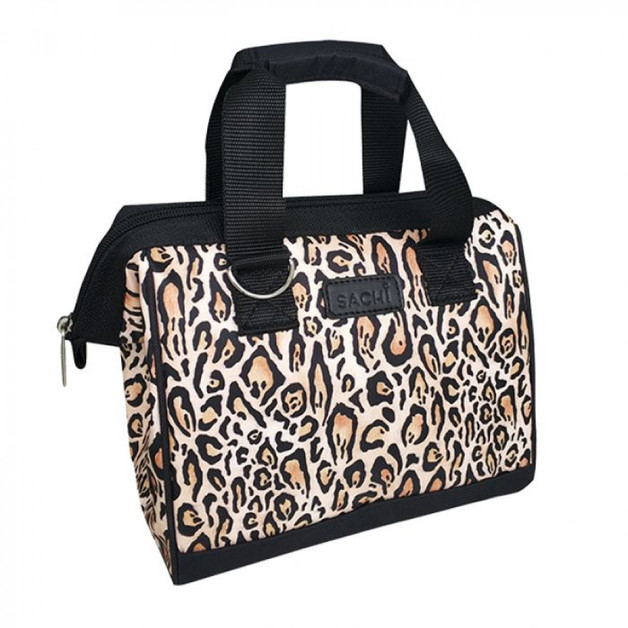 Sachi: Insulated Lunch Bag - Leopard Print