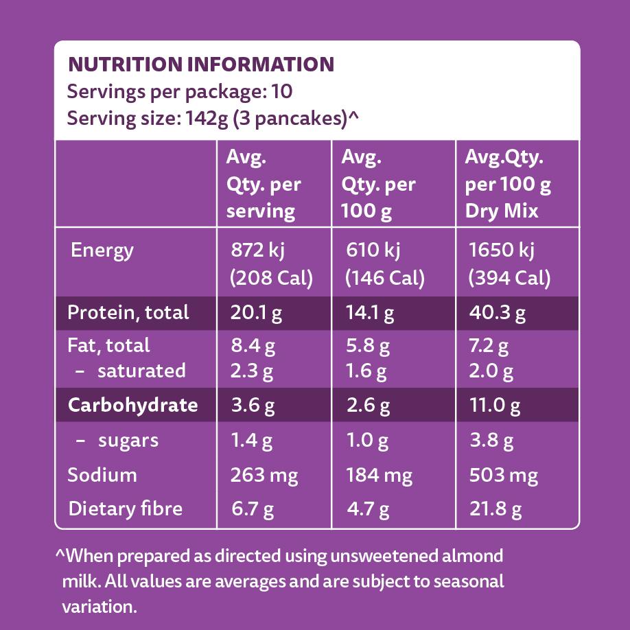 PBCo. Protein Pancake Mix 300g image