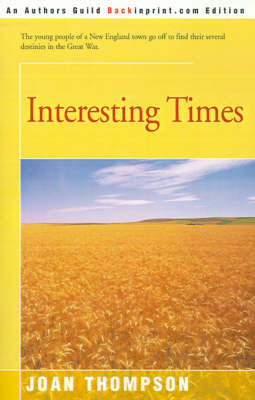 Interesting Times by Joan Thompson image