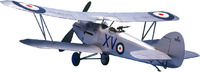 West Wings 1/18 Model Aircraft Kit - Hawker Hart (rubber powered)