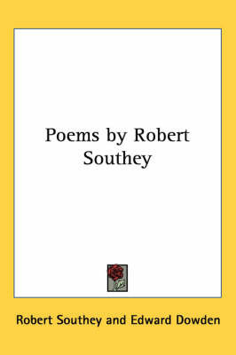 Poems by Robert Southey by Robert Southey