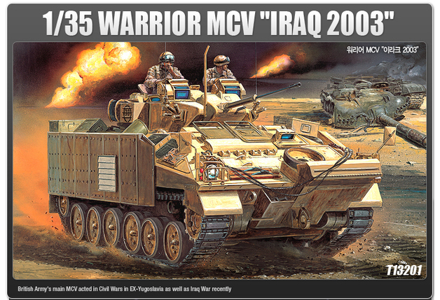 "Academy Warrior MCV ""Iraq 2003"" 1/35 Model Kit"