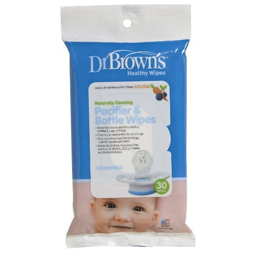 Pacifier & Bottle Wipes (30 Pack)