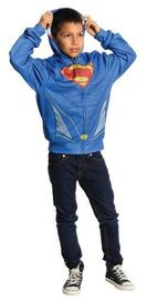 Man of Steel: Superman Printed Hoodie - (Small)