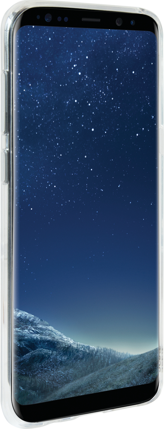 "3SIXT Samsung Galaxy S8 5.7"" Jelly Case - Clear image"