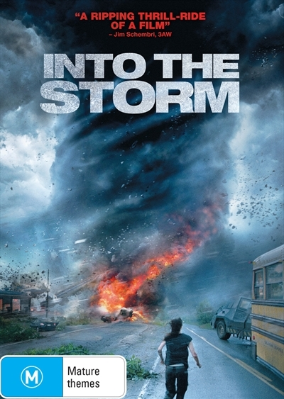 Into The Storm on DVD