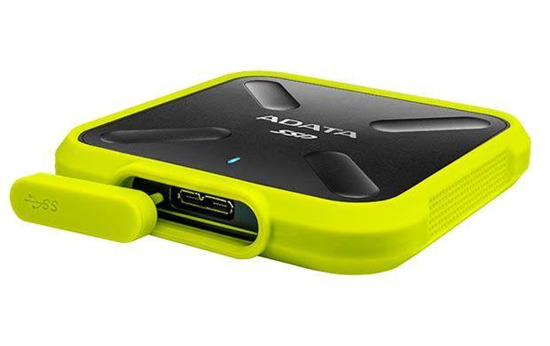 ADATA : SD700 USB3.1 Rugged IP68 External SSD 1TB