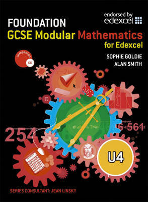 Edexcel GCSE Modular Maths: Level U4 by Alan Smith image