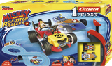 Carrera First: Disney Micky Roadstar Racers - Slot Car Set #1