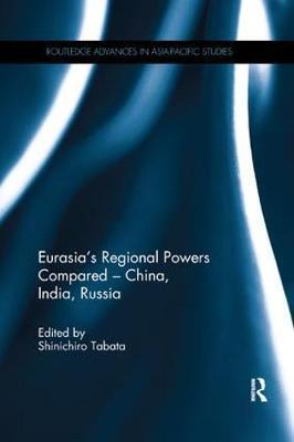 Eurasia's Regional Powers Compared - China, India, Russia