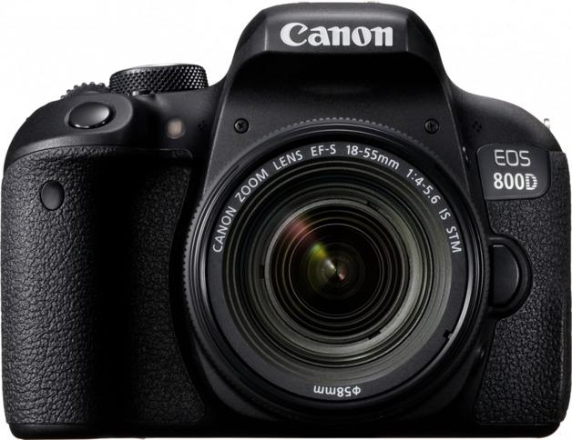 Canon EOS 800D 24MP DSLR Camera (18-55)