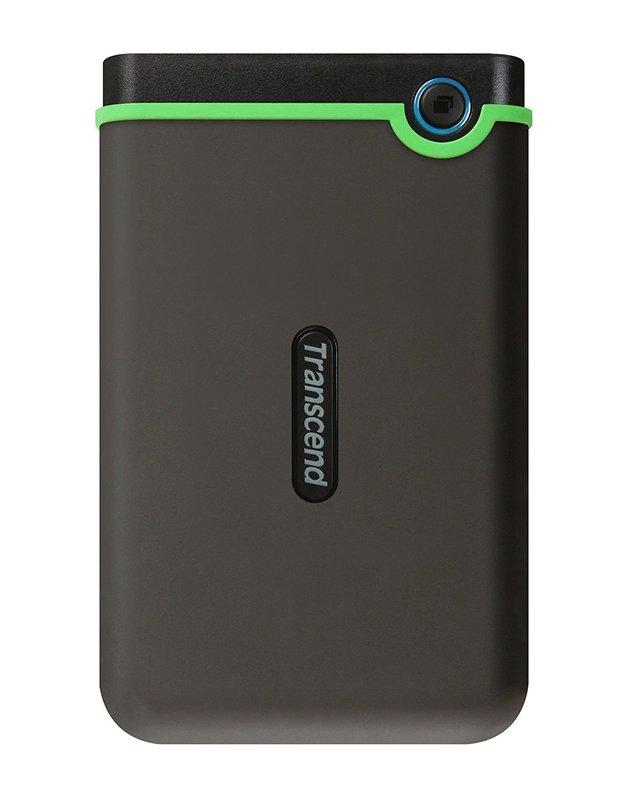 Transcend: StoreJet 25MC 1TB USB Type-C Portable Hard Drive - Gray