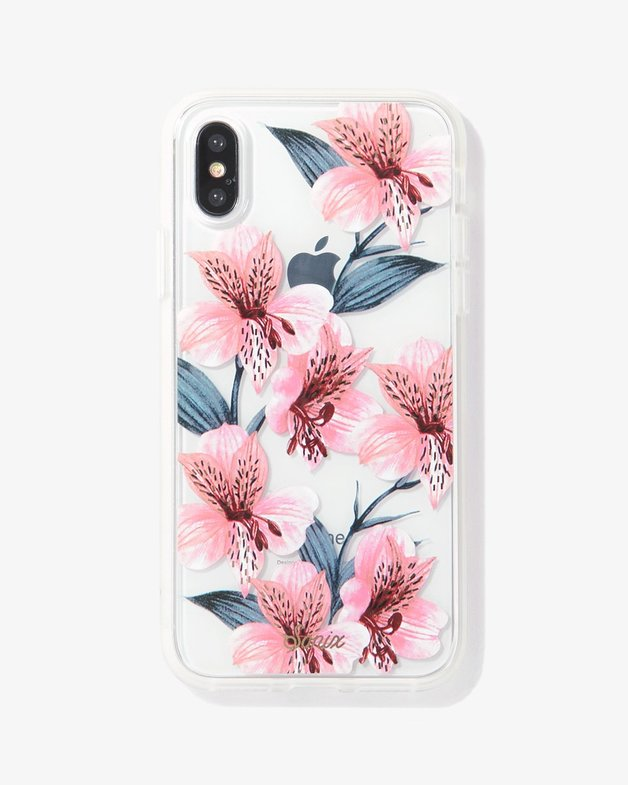 Sonix: Clear Case for iPhone X/XS - Tiger Lily