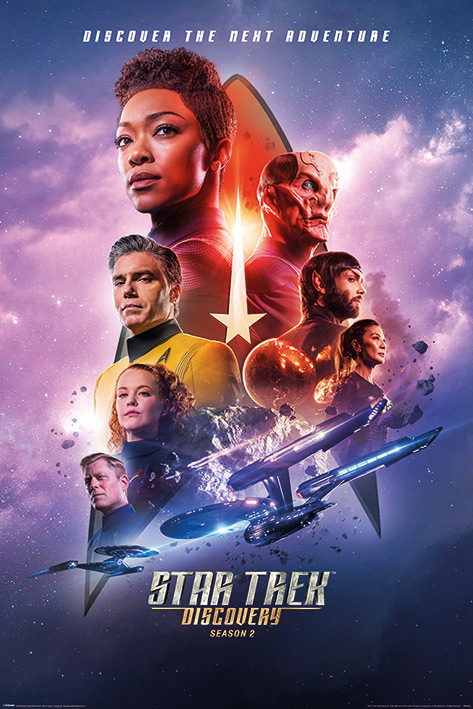 Star Trek Discovery Maxi Poster - Next Adventure (998)