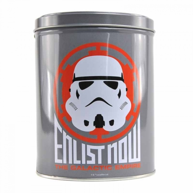 Star Wars: Large Canister (Stormtrooper Icon) image