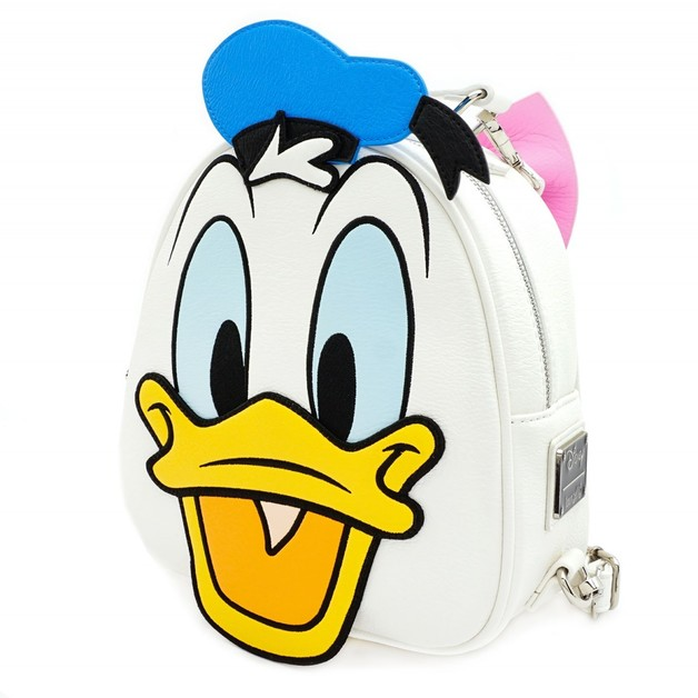 Loungefly: Mickey Mouse Reversible Backpack - Donald & Daisy