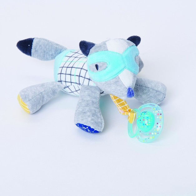 Bubble Pacifier Holder - Flash the Fox