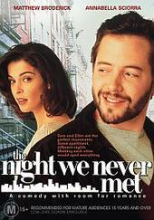 The Night We Never Met on DVD
