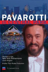 Pavarotti In Central Park on DVD