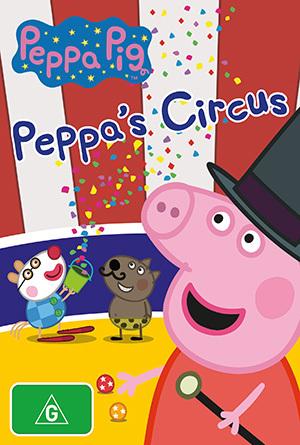 Peppa Pig: Peppa's Circus on DVD image