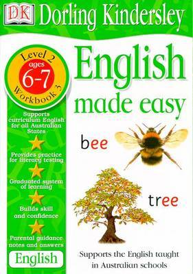 English Made Easy Level 2 (Age 6-7): Workbook 3 by Dorling Kindersley
