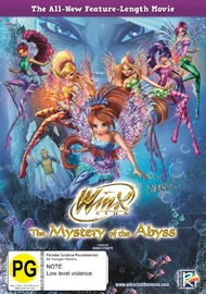 Winx Club - The Mystery Of The Abyss on DVD