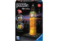 Ravensburger Big Ben At Night 3D Puzzle (216pc)