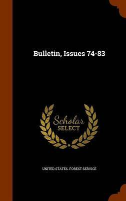 Bulletin, Issues 74-83