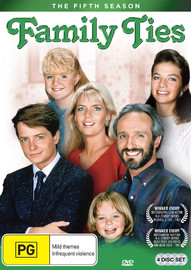 Family Ties (Season 5) on DVD