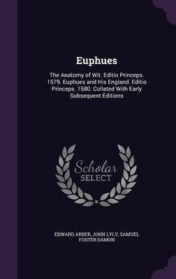 Euphues by Edward Arber image