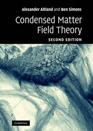Condensed Matter Field Theory by Alexander Altland image