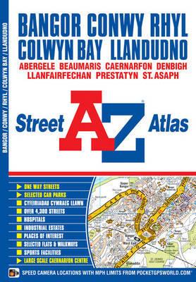 Bangor & Conwy Street Atlas by Geographers A-Z Map Company