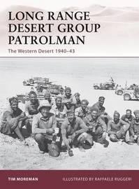 Long Range Desert Group Patrolman by Tim Moreman