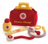 Curious George: Doctor Plush Playset