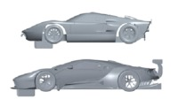 Scalextric: Ferrari & Ford GT40 - Limited Edition 3-Pack