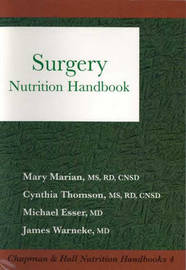 Surgery Nutrition Handbook by C. Thomson image