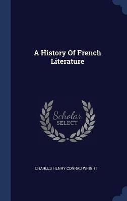 A History of French Literature image