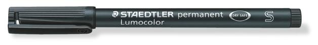 Staedtler: Lumocolor Permanent Superfine Tip Pen - Black