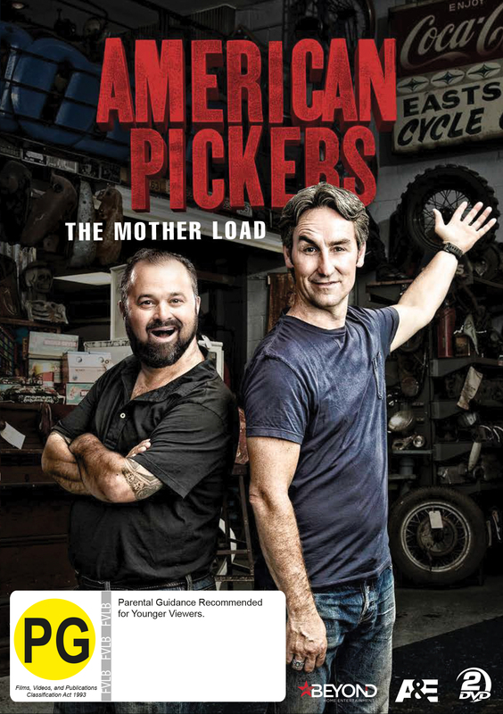 American Pickers: The Mother Load on DVD