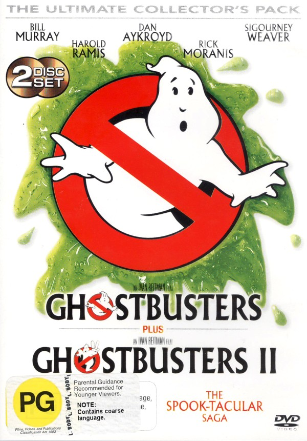 Ghostbusters 1 & 2 Ultimate DVD Pack on DVD image