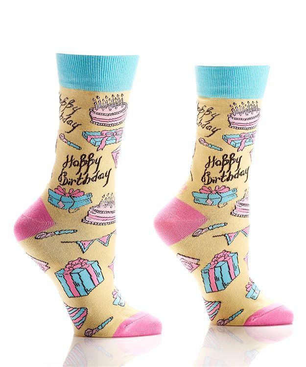 Happy Birthday Women's Crew Socks