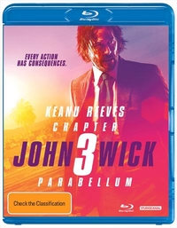 John Wick: Chapter 3 - Parabellum on Blu-ray