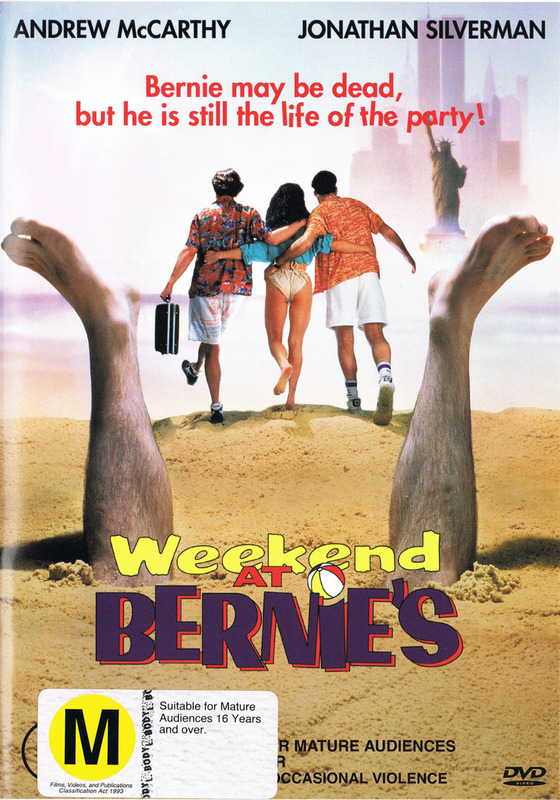 Weekend At Bernie's on DVD