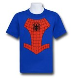 Spiderman Logo Costume T-Shirt (Size 5/6)