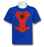 Spiderman Logo Costume T-Shirt (Size 5/6)
