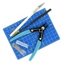 Italeri Tool Kit: Knife, Cutter, File & Mat