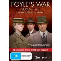 Foyle's War: The War Years 1939-1941 (Series 1 - 3) on DVD image