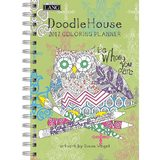 Cal 2017 Doodle House 2017 Engagement Planner - Spiral (Coloring)